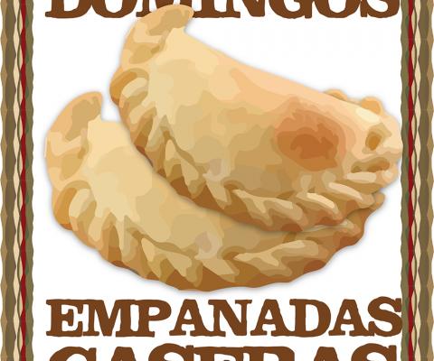 Domingo empanadas caseras!