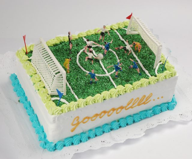 Torta decorada Baby Fútbol