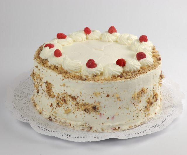 Torta Merengue Nuez Frambuesa